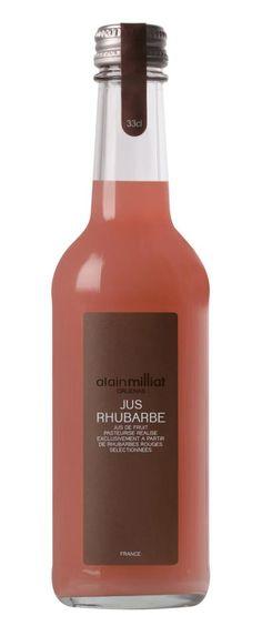 jus de rhubarbe (Alain Milliat)