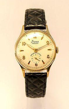 STOWA Parat Watch Damen Herren Uhr 1950 /60 in Biżuteria i zegarki, Zegarki klasycznych marek, Pozostałe | eBay
