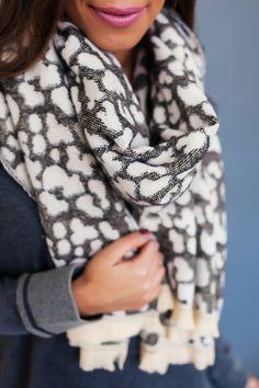 Leopard Frayed Edge Scarf - Dottie Couture Boutique adca176e484d