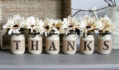 Thanksgiving Table Decor,Thanksgiving Centerpiece, THANKS - - 1