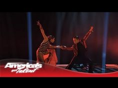 "This is the song from the Sherlock Holmes trailer! They do such and amazing job! D'Angelo & Amanda - Duo Dazzle in Dance to ""Unstoppable"" - America's Got..."