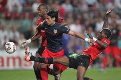 2011. Ligue Europa. SRFC Atlético Madrid. Soirée inoubliable.