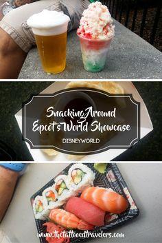 Snacking Around Epcot's World Showcase | Disneyworld | www.thetattooedtravelers.com