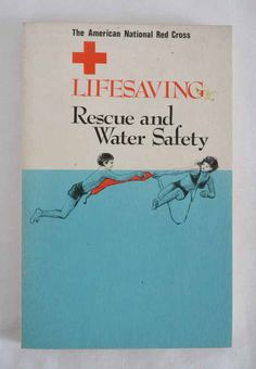 Red Cross Lifesaving Rescue and Water Safety. $10.00, via Etsy.