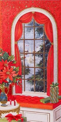 Christmas vista.