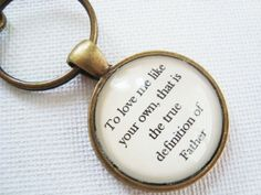 To love me like your own that is the true by SweetlySpokenJewelry