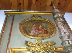 ANTIQUE FRENCH MIRROR Collected in Paris by CzarchildArtAntiques, $5000.00