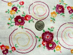 Vintage FEEDSACK Cotton Quilting Fabric