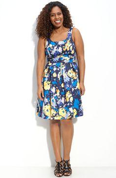 Summer dress. Plus size dress