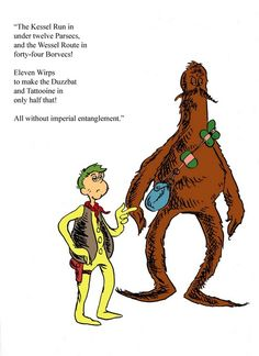 Take a wild ride and discover Star Wars if Dr. Seuss had created it. This bizarrely interesting mashup will twist your brain and leave you…