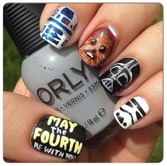 Pin for Later: Awaken the Force With These 40 Epic Star Wars Nails