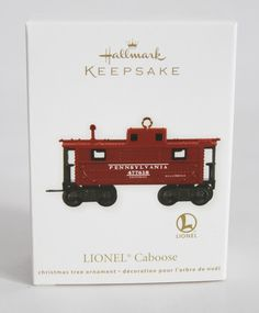 Hallmark© Keepsake '11 Christmas Ornament Lionel Caboose Pennsylvania | eBay