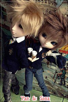 pullip taeyang | Van & Sora ♠TaeYang-Kain & Pullip Chelsea (custom to boy)♠