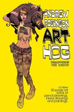 Cazadores de Comics: Nuevo proyecto de Andrew Robinson en Kickstarter