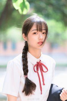 Japanese Beauty, Asian Beauty, World's Cutest Girl, School Uniform Girls, School Uniforms, Asian Cute, Oriental, Cute Beauty, Kawaii Girl