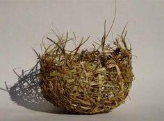 Jann French - Nesting Bowl - grasses