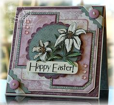 Happy Easter by PickleTree - Cards and Paper Crafts at Splitcoaststampers