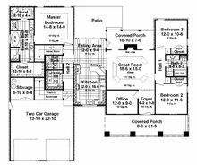 This County House Plan includes 3 bedrooms / 2 baths in 1940 sq ft of living space. Its open floorplan layout is flexible and is ideal for your growing family. Best of all, its designed to be affordable to build and includes all of the most popular features you're looking for in your next home design. #houseplan #dreamhome #HPG-1940 #HousePlanGallery #houseplans #homeplans Stone Siding, Home Buying Tips, Residential Construction, House Blueprints, Building A New Home, Commercial Real Estate, Next At Home, Along The Way, House Floor Plans