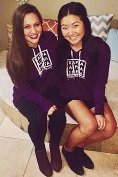 Kappa Alpha Theta // made by 224 Apparel #theta #kappaalphatheta #boxes #hoodies