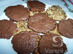Czech Desserts, Sweet Desserts, Sweet Recipes, Czech Recipes, Oreo Cupcakes, Sweet Cookies, Christmas Sweets, Graham Crackers, Food Hacks