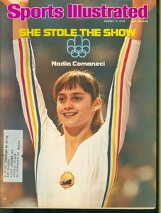 1976 Olympics.....every young girl wanted to be the amazing Nadia Comaneci. The olympics were held in Montreal, Canada. I had a pair of Adidas, Red  White, olympic running shoes. I was so proud...I still remember.