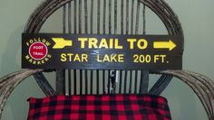 family camp sign by,Adirondack Jim