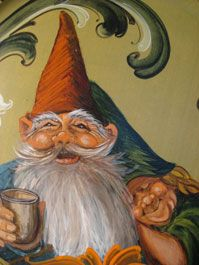 Nisse (gnome)  #art, #illustration - THERE'S THAT WORD....NISSE.
