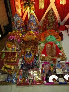 Tilak gift decoration.
