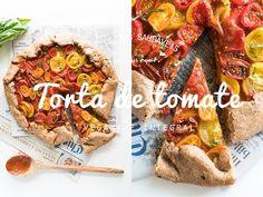 TORTA VEGANA DE TOMATE