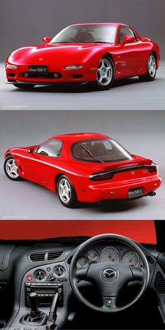 1991 Mazda RX-7 / FD / red / Japan