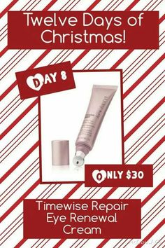 On the 8th Day of Christmas, my Mary Kay Consultant gave to me. www.marykay.com/orhile