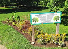 The Adopt-a-Plot gardens will be featuring new signs with information on them soon!