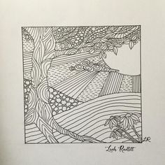 """Zentangle drawing by polymer clay artist Leah Radlett. This drawing was turned into a art piece made out of polymer clay titled """"Happy Day Zentangle Drawings, My Drawings, Elements And Principles, Polymer Clay Projects, Christian Art, Working On Myself, Have Time, Art Pieces, Give It To Me"""