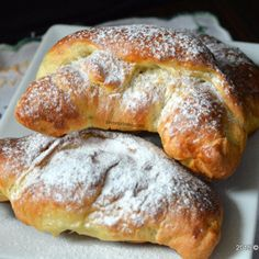 Sweets Recipes, Cooking Recipes, Romanian Food, Croissant, Nutella, French Toast, Bread, Cookies, Breakfast