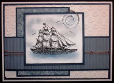 The Open Seas by BarbieP - Cards and Paper Crafts at Splitcoaststampers                                                                                                                                                                                 More