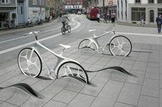 © RAFAA Architecture & Design, New Bike Share System, Winner Copenhagen Competition, 2010