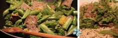 inspirationwokG Asparagus, Broccoli, Wok, Vegetables, Deer, Studs, Vegetable Recipes, Veggies