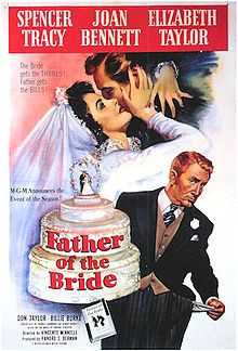 Father of the Bride ~ Starring: Spencer Tracy, Elizabeth Taylor and Joan Bennett (1950)