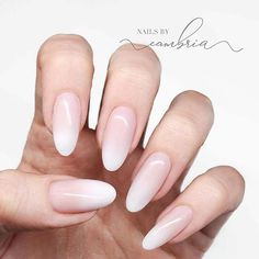 In seek out some nail designs and ideas for your nails? Here is our list of must-try coffin acrylic nails for stylish women. Oval Nails, Pink Nails, Nude Nails, My Nails, Oval Shaped Nails, Nagellack Design, Nagellack Trends, Gorgeous Nails, Pretty Nails