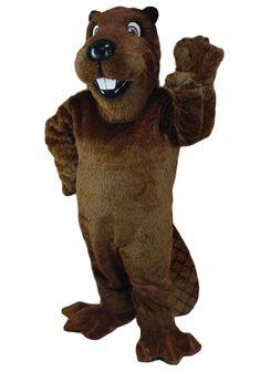 Mascot Costumes - Buy Barney Beavers Costume - University Mascot at Costume-Shop.com