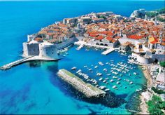 """Wonderful Place """"Dubrovnik, Croatia"""" Dubrovnik is a city of Croatia on the coast of the Adriatic Sea which is famous for its historical monuments dating from the Middle Ages. Its population is 49,000."""