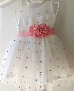 Baby Girl Frocks, Baby Girl Party Dresses, Frocks For Girls, Dresses Kids Girl, Cute Dresses, Girl Outfits, Frock Patterns, Baby Girl Dress Patterns, Baby Dress Design