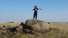 Бескрайние степи Казахстана
