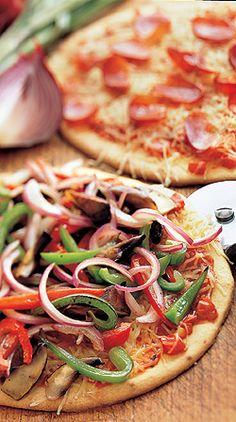Recipe: Low-Carb Pizza and Marinara Sauce (using soy flour, with photo) - Recipelink.com