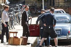 Filming of ITV series Endeavour. IN PICTURES - gallery - from Oxford Mail