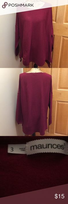 Maurices sweater Maurices sweater, size 3 (see chart) Maurices Sweaters Crew & Scoop Necks