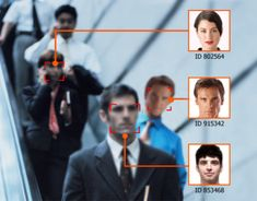 face recognition technology 20 Smart City Technologies for 2013 and Beyond Cctv Security Cameras, Security Camera System, Safety And Security, Personal Security, Security Solutions, Home Security Systems, Computer Algorithm, Cities, Minority Report