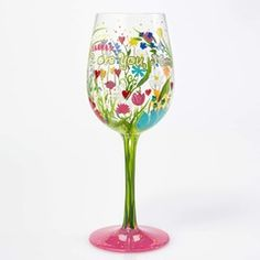 WINE GLASS LOVE YOU MOM - GLS11-5526W