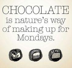 chocolate and mondays