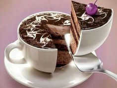 delicious chocolate in different cup shape. Food Cakes, Cupcake Cakes, Cup Cakes, Chocolate Day, Chocolate Desserts, Delicious Chocolate, Köstliche Desserts, Delicious Desserts, Chocolates